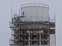 20170108 Watertoren in de steigers Dupont Dordrecht Tstolk