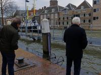 Kades onder water Dordrecht