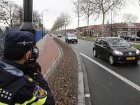 Verkeerscontrole politie Merwedestraat Dordrecht