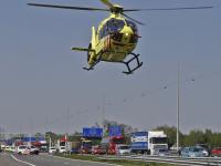 Motorrijder gewond geraakt bij eenzijdig ongeluk