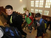 Eerste dag naar school obs Noordhove Wantijschool Oranje Vrijplein Dordrecht