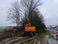 Rijkswaterstaat gestart met kappen van bomen en struiken A16