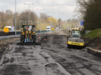 Werkzaamheden randweg N3 in volle Gang Dordrecht
