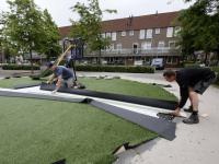 Nieuw speeltoestel HF Tollensstraat Dordrecht