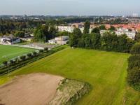Nieuw Reeweg park vanaf uit de lucht Dordrecht