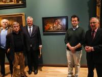 Nieuwe aanwinst geeft extra kerstsfeer aan Dordrechts Museum