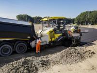 Asfaltwerkzaamheden nieuwe aansluiting N3 A16 Dordrecht