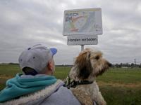 Verboden voor Honden Nieuwe Dordtse Biesbosch Dordrecht