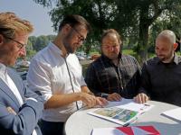 Nieuwe eigenaren restaureren gemaalcomplex Het Vissertje Loswalweg Dordrecht