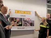 Nieuwe Nieuwe meldkamer Rotterdem officieel geopend
