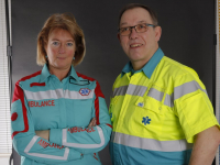 Nieuwe outfit ambulancepersoneel