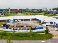 Priklocatie verhuist naar europaplein Dronefoto Dordrecht