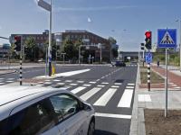 Nieuwe verkeerslichten Koninginneweg Zwijndrecht
