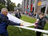 Nieuwe vlag CBS Beatrix dubbeldam Dordrecht