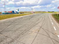 Nieuwe wegen op DistriPark gebruikt als parcours Dordrecht