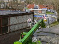 Asbestsanering gestart bij Winkelcentrum Sterrenburg Dordrecht