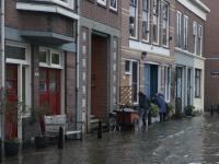 Kades ondergelopen in Dordrecht