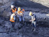 Archeologisch onderzoek Karel Lotsyweg Dordrecht