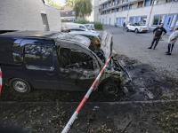 Opnieuw auto's in vlammen op in Dordrecht
