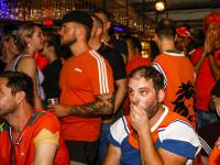 EK Voetbal eindigt in mineur Café Merz Dordrecht