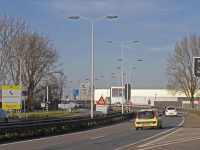 Informatieborden renovatie Wantijbrug Dordrecht