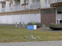 Halleyweg paaltjes sterrenburg Dordrecht