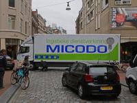 Pechgeval midden op kruispunt Bagijnhof Dordrecht