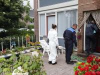 Politie en brandweer onderzoeken woningbrand Dorus Rijkersstraat Dordrecht