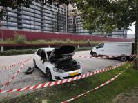 Auto uitgebrand in Zwijndrecht