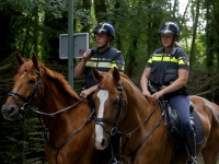 20172707 Politie voert controle uit in Hollandse Biesbosch Dordrecht Tstolk 005