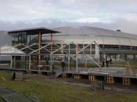 Opbouwen van ijsbaan