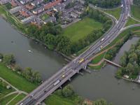 Luchtfoto Randweg N3 Dordrecht