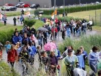 20170606 Regenachtige avondvierdaagse gestart Dordrecht Tstolk 003