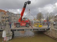 Renovatie aan Engelenburgerbrug gestart Dordrecht