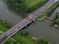 Luchtfoto Wantijbrug Dordrecht