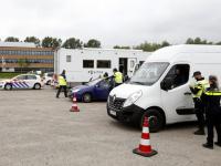 Politie controle Laan van Europa Dordrecht