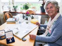 Rie Mazure (82) was driemaal jurylid op de Olympische Spelen Dordrecht