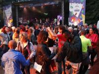 Orquesta Pegasaya en dansen Palm parkies Dordrecht