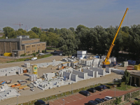 Bouwproject Schaerweide in volle gang Dordrecht