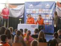 kidspersconferentie Shorttrackrijders Het Kristal Dordrecht