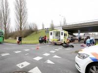 Scooterrijder gewond geraakt bij ongeluk met stadsbus Dordrecht