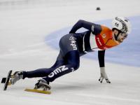 Itzhak de Laat ISU World Cup Shorttrack Dordrecht