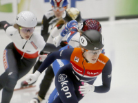 Rianne de Vries ISU World Cup Shorttrack Dordrecht