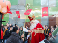 Sinterklaasfeest op de cbs Johan Friso en OBS De Bever Dordrecht