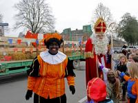 Sinterklaas bezoekt Damplein Dordrecht