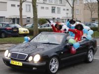 Sinterklaas en zijn Pieten bij de Johan Friso en de Bever