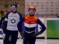 Eerste shorttracktoppers arriveren in Sportboulevard Dordrecht