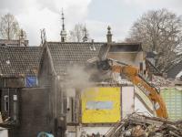 Sloop kromhout in volle gang Dordrecht