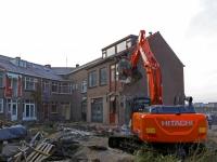 20172701 Laatste woningen Papendrechtsestraat worden gesloopt Dordrecht Tstolk 002