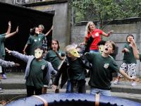 Afsluiting zomerschool met roofvogeldemonstratie Basisschool De Wereldwijzer Dordrecht